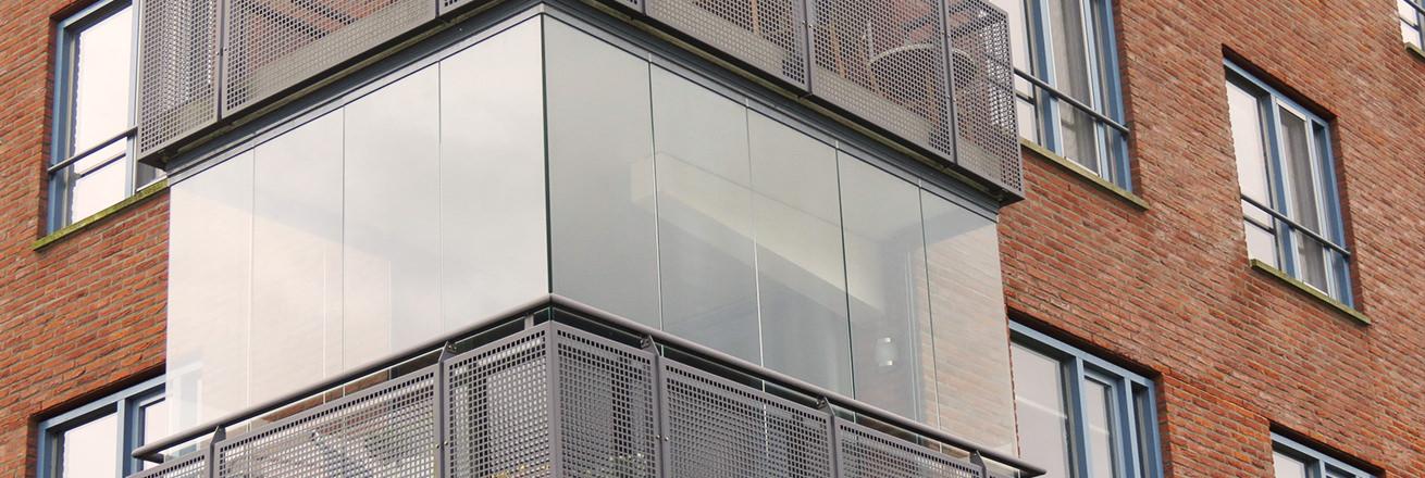 Balkon beglazing Den Bosch